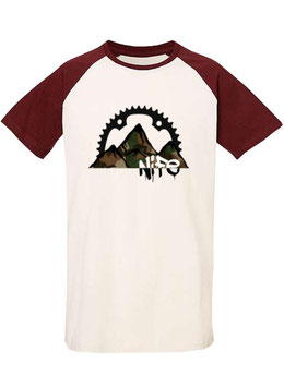 NIFEMOUNTAIN-TU burgundy in XL