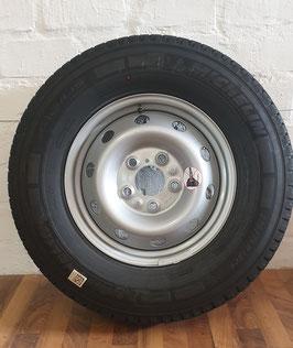 Maxi: Ersatzrad 16 Zoll, silber, gebraucht, guter Zustand, Michelin Agilis Camper 225 75 R16