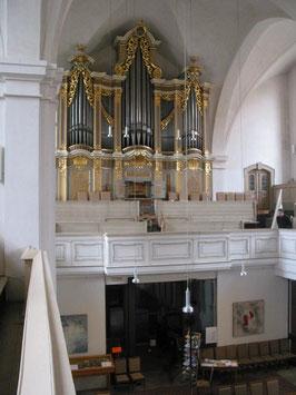 1735 G. Silbermann Petrikirche, Freiberg (Deutschland)