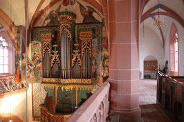 ca. 1500 Unbekannter Orgelbauer, Kiedrich (Deutschland)