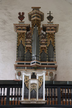 ca. 1587 Unbekannter Orgelbauer, Smecno (Tschechien)