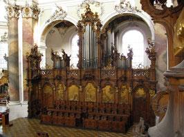 1766 Karl Joseph Riepp, Heilig-Geist-Orgel, Ottobeuren (Deutschland)