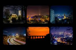 Leinwand Collage