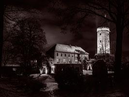 """Gallery Print """"Sparrenburg Hof"""" Black & White"""