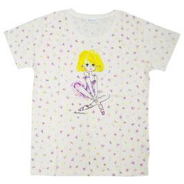 水森亜土 半袖Tシャツ ハナ1
