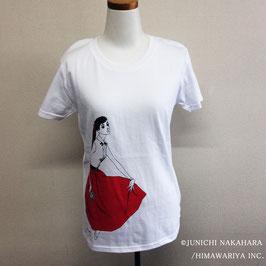 中原 淳一 Tシャツ 赤いスカート WH