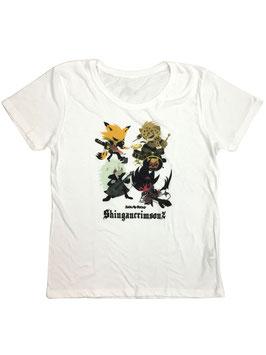 SHOWBYROCK レディース半袖Tシャツ シンガン2