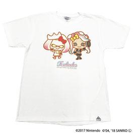 スプラトゥーン×サンリオ 半袖Tシャツ テンタクルズ