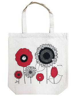 中原淳一 トートバッグ 美しき花々