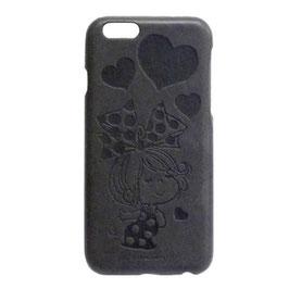 Italian PU iPhone6/6S対応ケース リボン/ドット