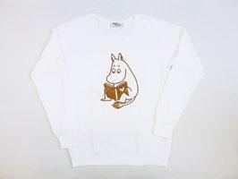 ムーミン ソフト裏毛トレーナー ムーミン/コルク