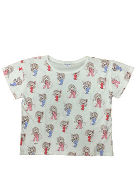 水森亜土 半袖Tシャツ ウタ