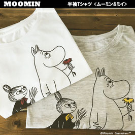ムーミン ドルマンTシャツ  ムーミン&ミイ