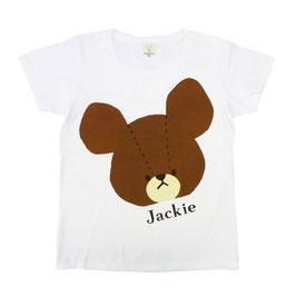 くまのがっこう 半袖Tシャツ ジャッキー/カオ