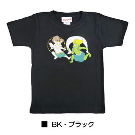 びじゅチューン! キッズ半袖Tシャツ  風神雷神
