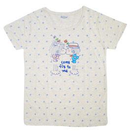 水森亜土 半袖Tシャツ ハナ2
