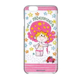 ポリカーボネイト iPhone6/6S対応クリアケース マドモアゼル