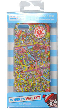 WHERE'S WALLY? iPhone 5/5S対応 ポリカーボネイトケース オカシ