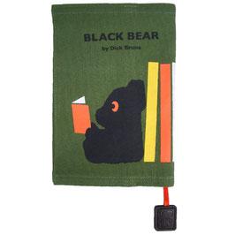 BLACK BEAR ヴィンテージブックカバー スワリ