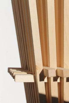 Zirbenholz-Klimabesen
