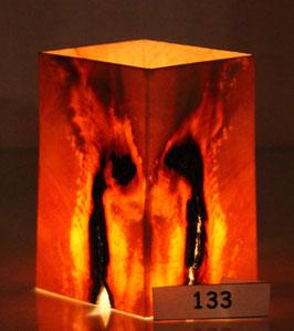 "Zirbenholzwindlicht ""Feuerkugel"" Nr.133"