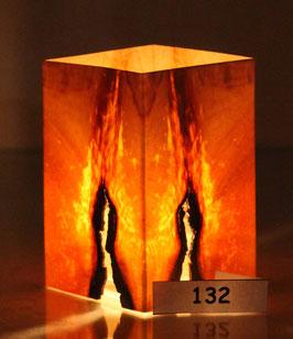 """Zirbenholzwindlicht """"Feuer"""" Nr.132"""