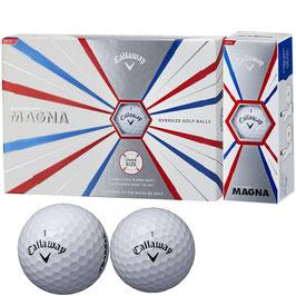 キャロウェイゴルフ SUPERSOFT MAGNA ボール  1ダース(12個入り)ホワイト