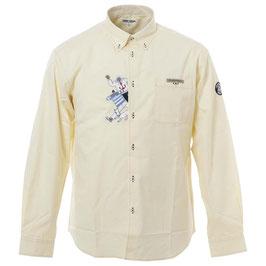 SINA COVA 長袖ボタンダウンシャツ 21224030