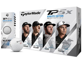 Taylormade TP5x ATHLETE EDITION ボール 1ダース(12個入り)