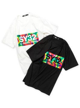 SY32 TIE DYE BOXLOGO TEE 11585