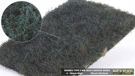 Welberg - SECG Sträucher Koniferengrün, 6-30 mm, 15x21 cm, einzeln entnehmbar