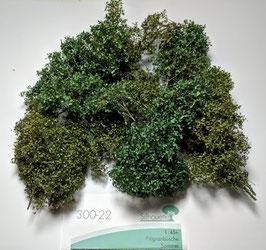 Silhouette/MiniNatur 300-22 Filigranbüsche Sommer, 1:45/1:32+, etwa  20 cm, ca 4-6 Stück