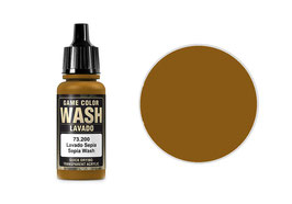 Vallejo Wash-Colour, Sepia, 17 ml - (73200) (773200)