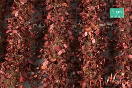 Silhouette - Agrarstreifen mit Blättern Spätherbst, ca.42x15 cm (766-34) (1:45/1:32+)