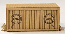 "Joswood - H0   Kiste mittel mit Rahmen ""Lanz"" (40199)"