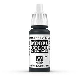 Vallejo - Signalschwarz, matt, 17 ml, acrylic color, 70950 (770950)