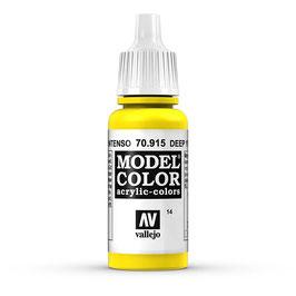 Vallejo - Vollgelb, matt, 17 ml, acrylic color, 70915 (770915)