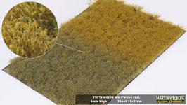 Welberg - PW604 Grasbüschel mit Unkraut, Herbst, 2-6 mm, 21x15 cm, einzeln vom Träger entnehmbar