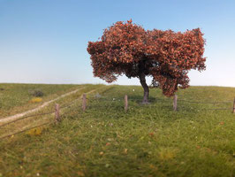 Silhouette 226-xx Apfelbaum, Spätherbst, in 2 Größen, 1:87 / H0