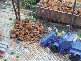 JUWEELA H0 Schrott, Industrieschrott  25g (28186)
