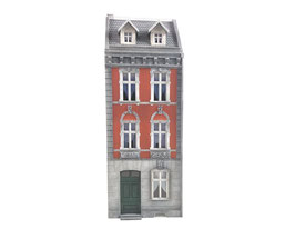 Stangel - 0 | Wohnhaus 2 mit Tür (BS0/054/03)