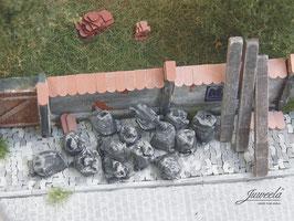 JUWEELA 1:45 Müllsäcke, schwarz, 20 Stück (24185)