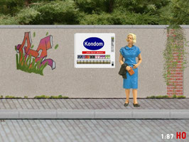 MODELLLAND H0 Kondomautomat - 1195-8