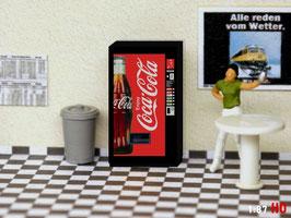 MODELLLAND H0 Coca Cola Getränkeautomat - 2011-8