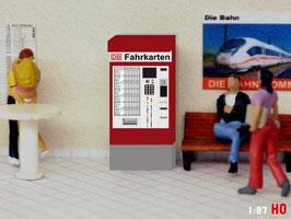 MODELLLAND H0 DB Fahrkartenautomat - 2087-8