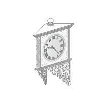 Stangel - 0 | Wanduhr / Uhr Bausatz