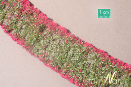 Silhouette/MiniNatur Blumen magenta, 6 Streifen (998-26)