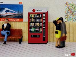 MODELLLAND H0 RhB SBB Selecta Snack Automat - 9040-8