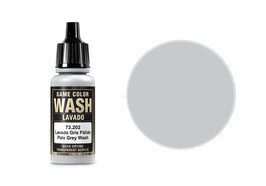 Vallejo Wash-Colour, blass-grau, 17 ml, pale grey - 73.202