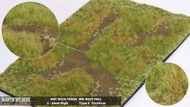 Welberg - M029 Grasmatte Wildwuchs, Herbst, DIN A4 Format